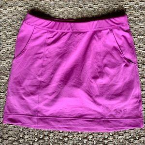 Nike Dri-Fit Golf Skirt w/ Pockets | Bright Pink